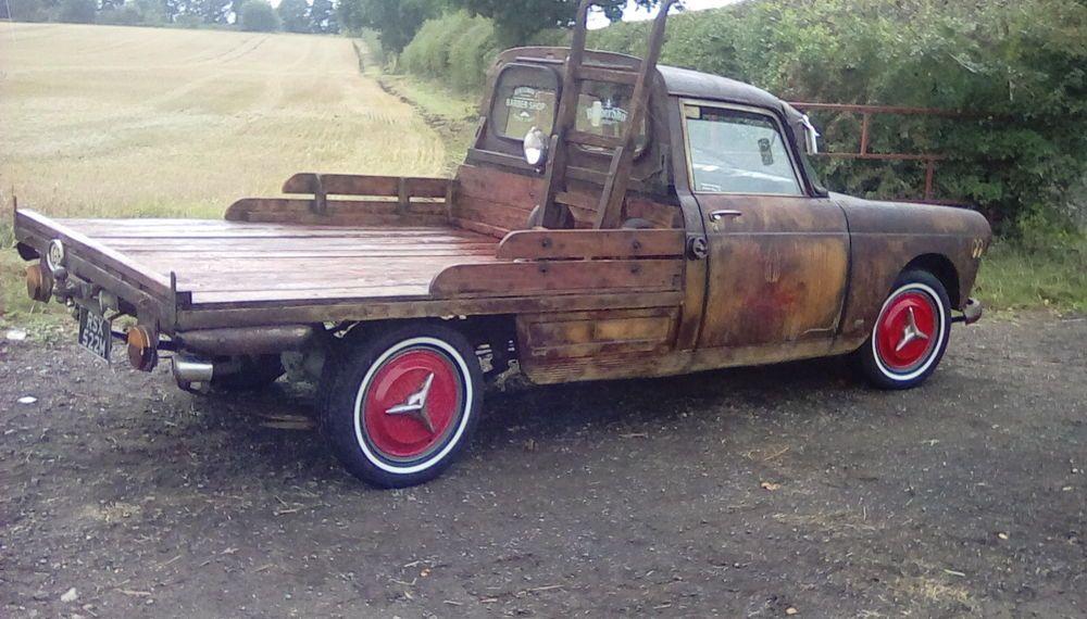 Diesel Rat Look Pick Up Truck Motos