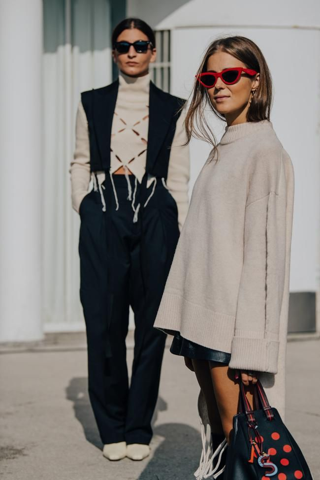 Street style inspiration from Oslo Fushion Festival spring/summer 2020
