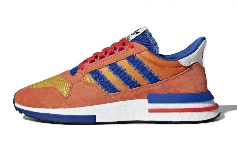 774c82360 Dragon Ball Z x adidas ZX 500 RM Son Goku