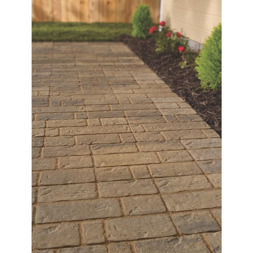 valestone hardscapes rockford 12 in x 16 in light brown avondale patio stone 12052372 the home depot - Home Depot Patio Blocks