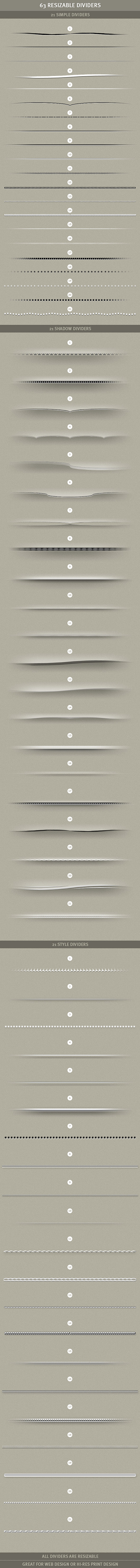 Amazing web element templates