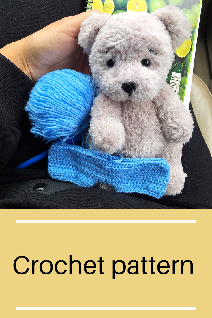 Crochet pattern Bear Plush bear tutorial Amigurumi animal | Etsy #crochetbearpatterns