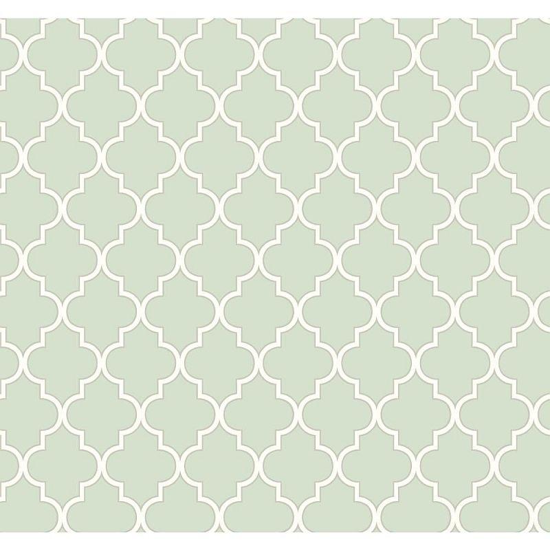 Rasch Papier Tapete WAVERLY Cottage 326214 Buzzing mint silber ...