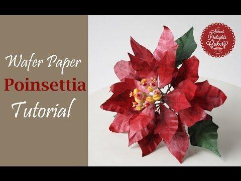 Wafer paper poinsettia trailer premium wafer paper pinterest wafer paper poinsettia trailer mightylinksfo