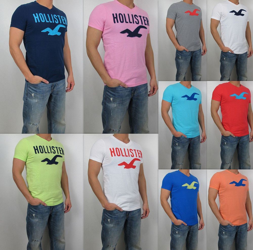 NWT HOLLISTER By Abercrombi e Men Muscle Fit Classic Tamarack V ...