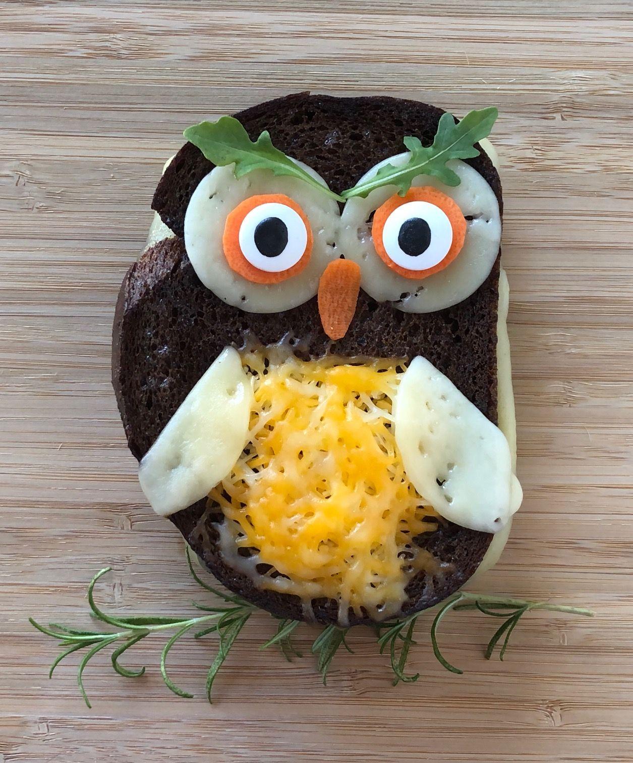 Owl Sandwiches Make For An Easy Halloween Dinner