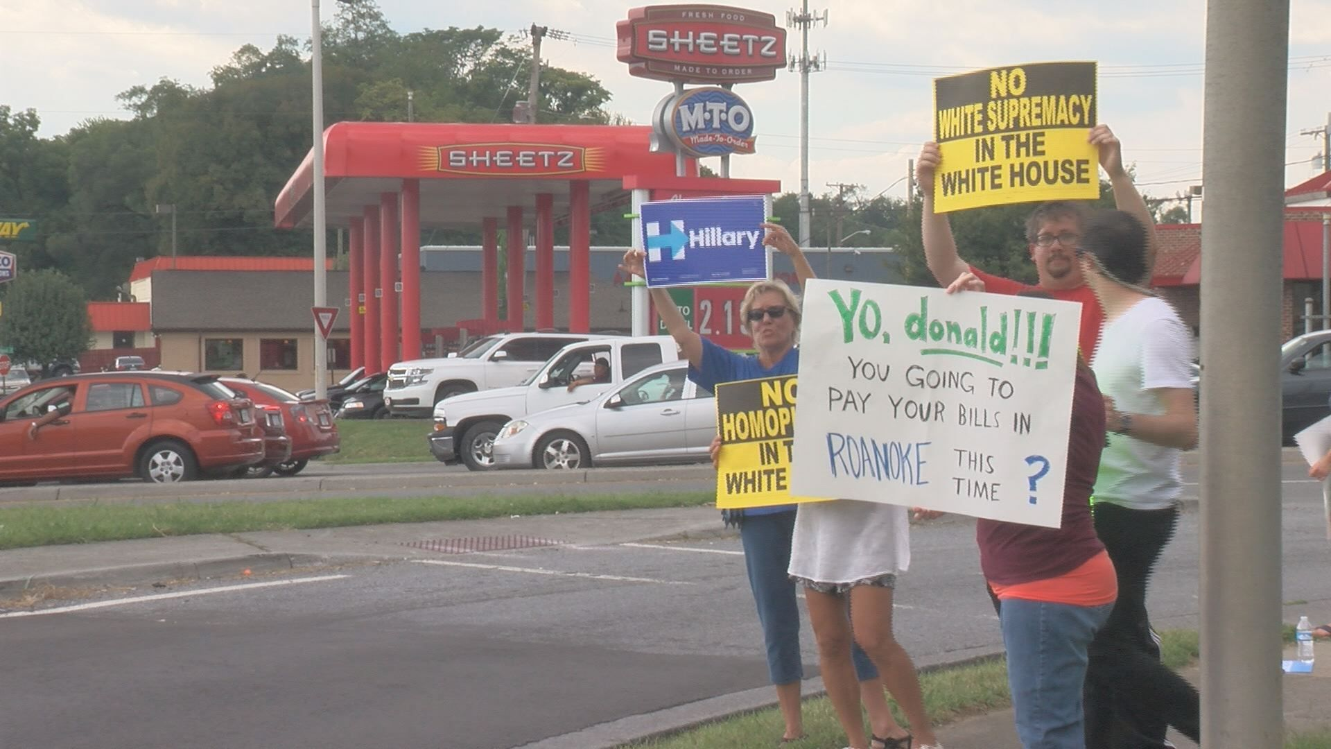 ROANOKE, Va  (WDBJ7) Not everyone who came out today did it