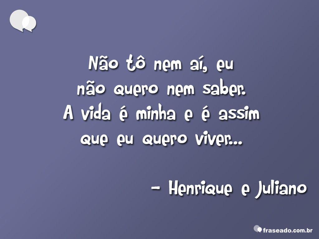 Henrique E Juliano Frases Pesquisa Google Musica