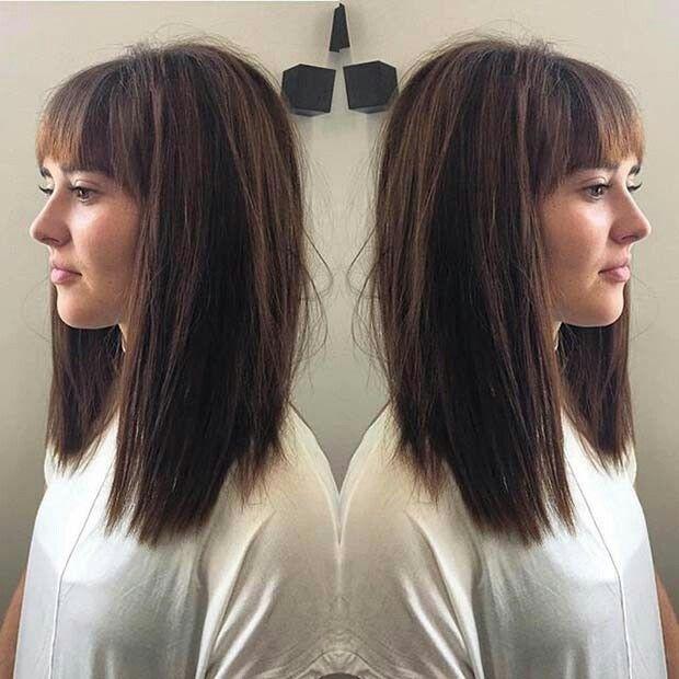 Long Bob Hair Ekkor 2019 Frisure Frisører és Makeup