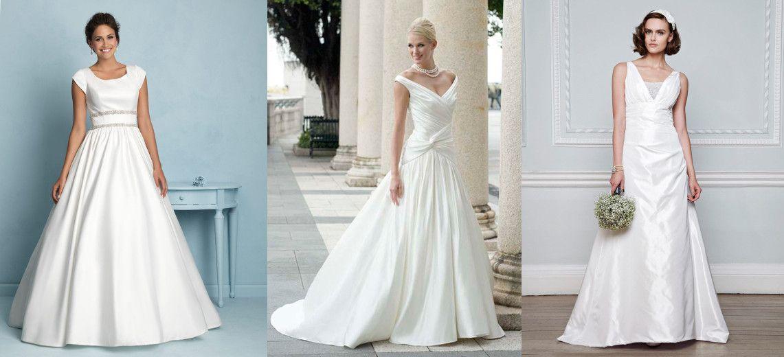 Wedding Dresses for Older Brides over 40, 50, 60, 70   Pinterest ...