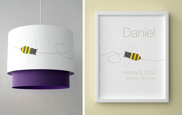 Láminas y Lámparas para habitaciones infantiles personalizadas