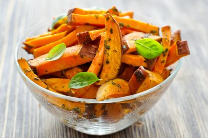 I fell in love with sweet potato fries the second I tried them. I have had them thin, thick, spicy, garlicky, sweet… I was convinced since they were made from sweet potatoes (which we know are better than russet potatoes) that they were healthy fries. Wrong. Most of the time they are fried in hydrogenated […]