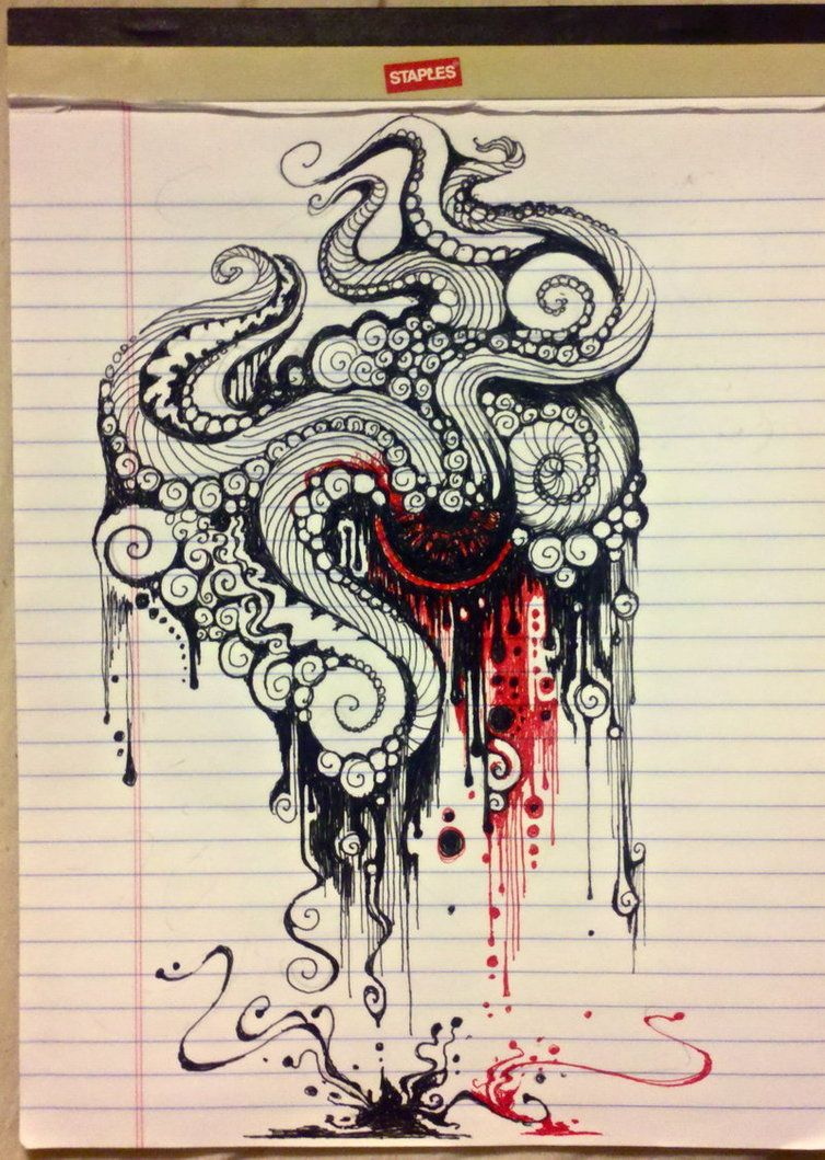 The Octopus by ~themajord on deviantART