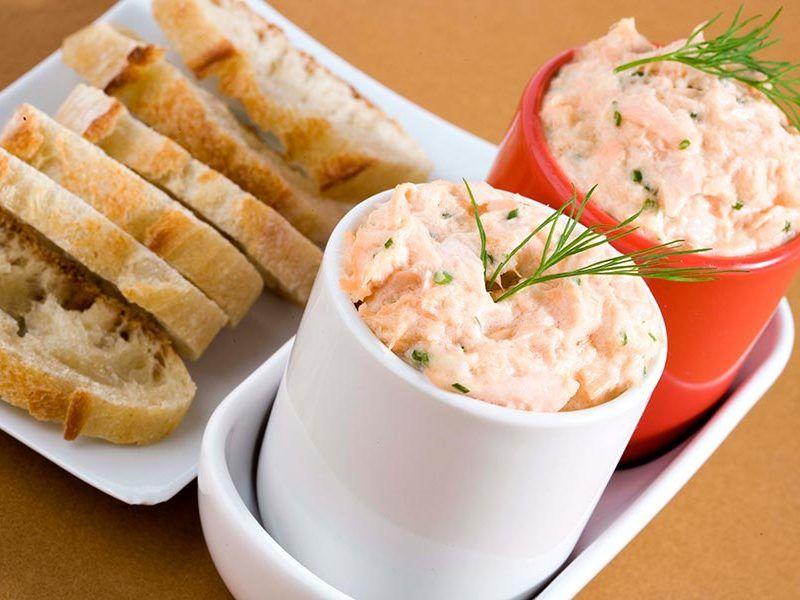 Rillettes de saumon au Thermomix #recettemonsieurcuisinesilvercrest