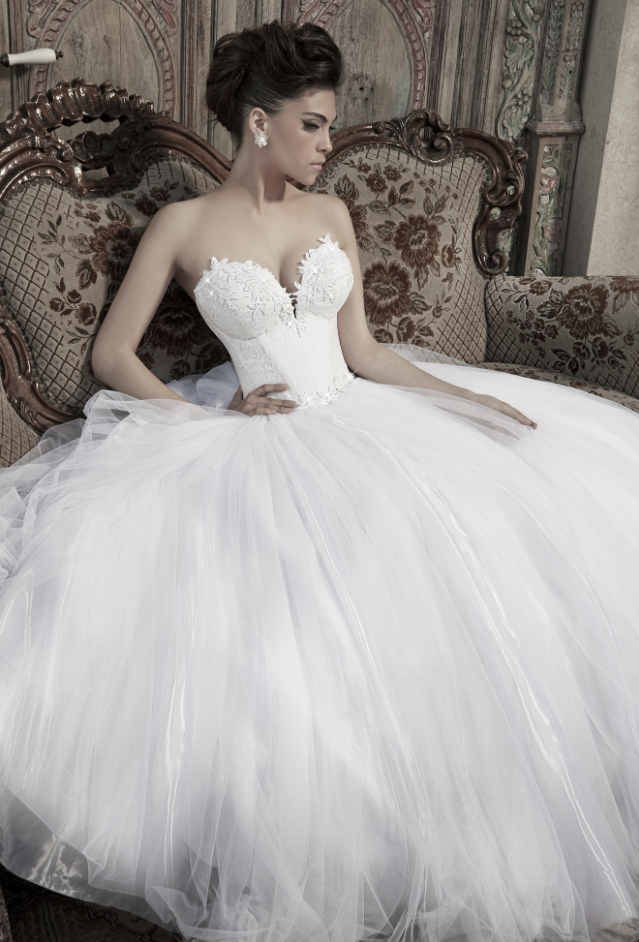 The Best of Nurit Hen Wedding Dresses | Pinterest | Brautkleider ...