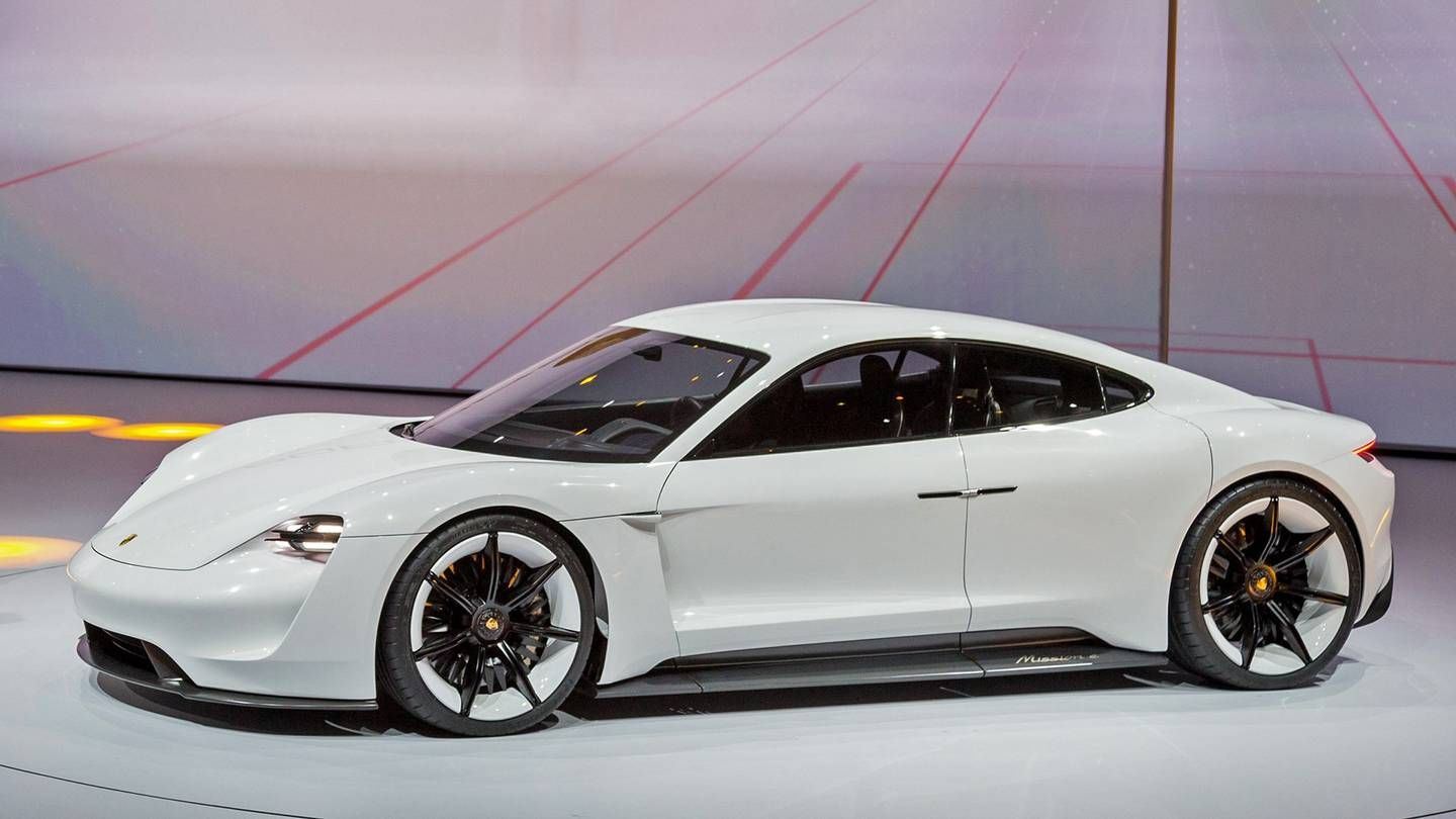 Porsche S Only Electric Performance Car Takes Its First Steps Into The Production Phase Porsche Mission Bmw Car Models Honda Car Models