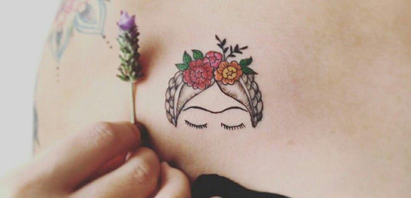 Photo of Tatuajes inspirados en Frida Khalo
