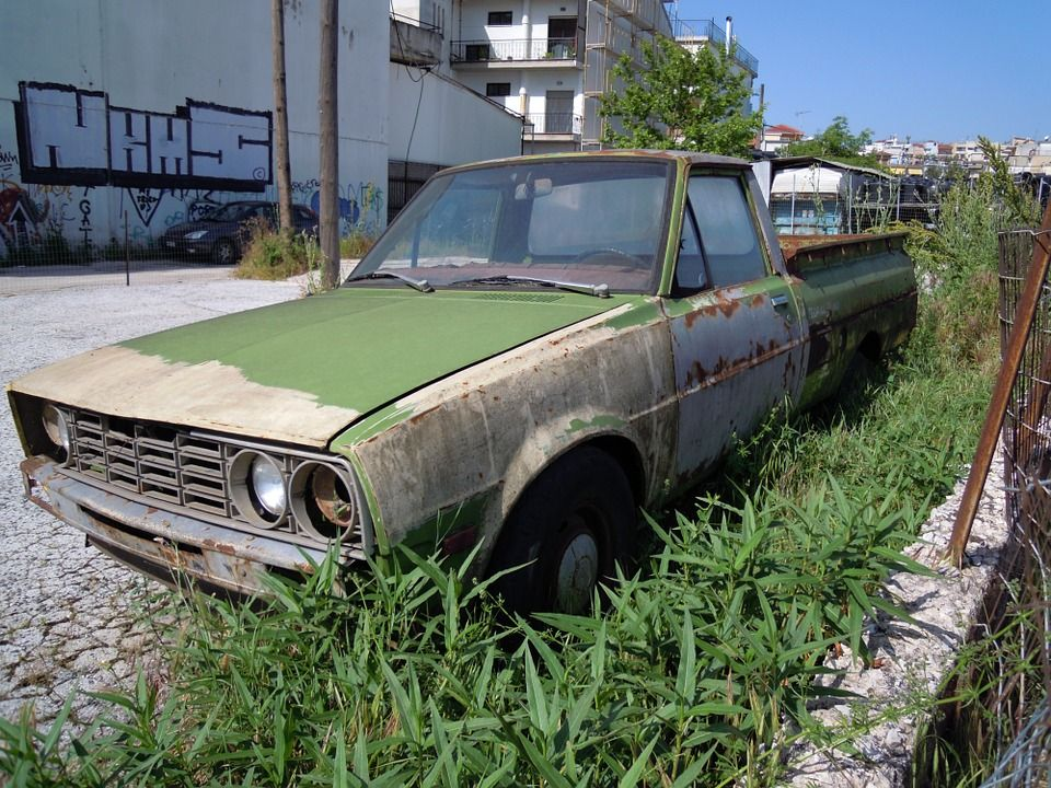 Pickup Truck, Car, Oldtimer, Abandoned, Old, Rusted | pickup trucks ...