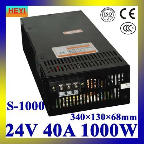 Led Power Supply 24v 40a 100 120v 200 240v Ac Input Single Output Switching Power Supply 1000w Transformer 24v Led Power Supply Led Power Supply