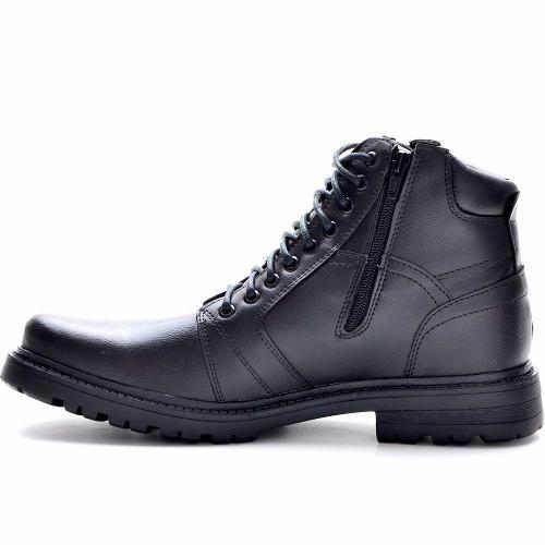 sapato bota coturno masculino adventure cano médio social  4386381550b03