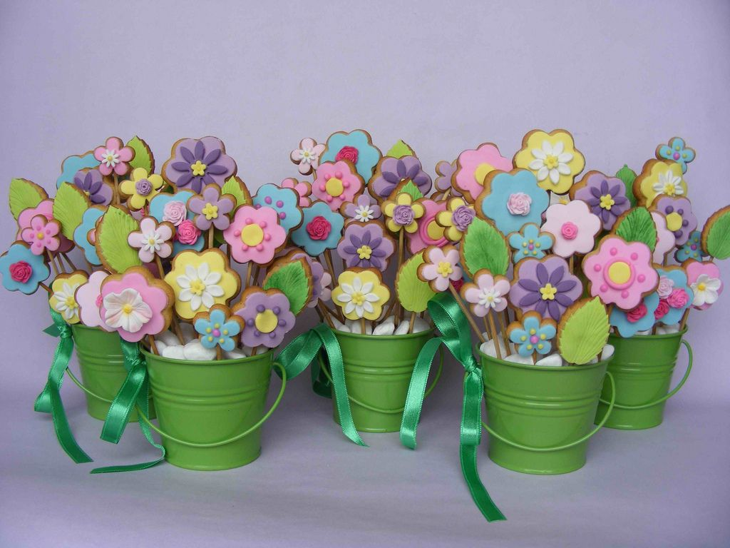 Cookie flower bouquets | Flickr - Photo Sharing!