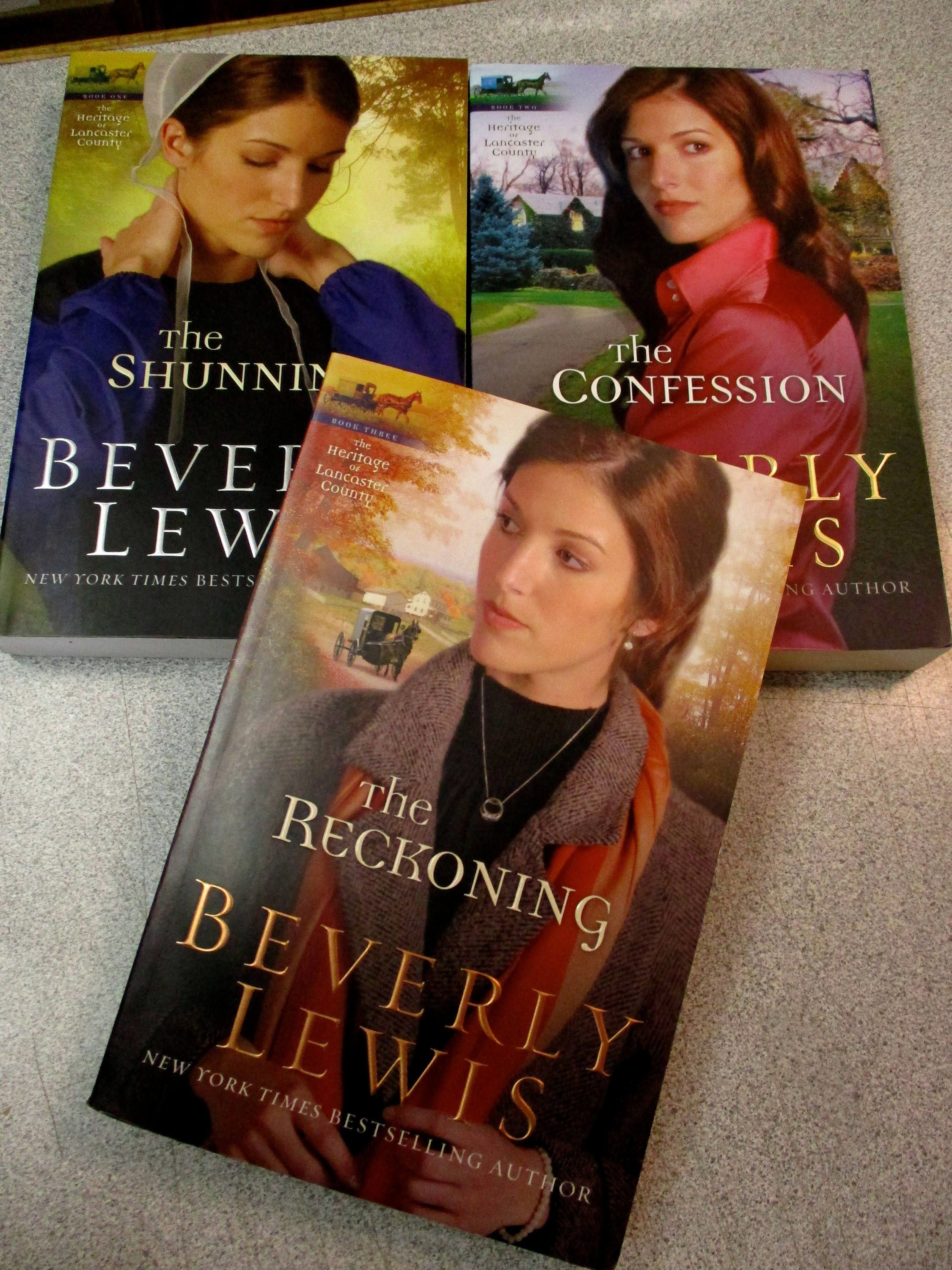 3 christian fiction beverly lewis heritage lancaster