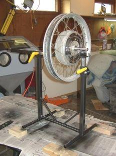 Homemade Wheel Balancer Automotive Restoration Wheel Motorcycle Wheels