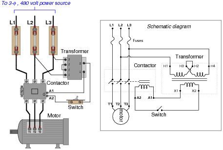 Dol Motor Starter With Images Electronic Engineering
