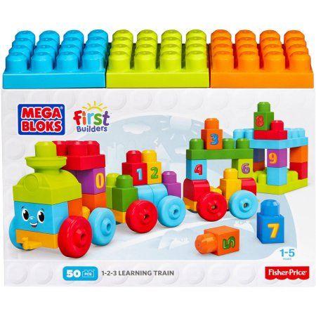 Mega Bloks 123 Learning Train Playset | Products | Train