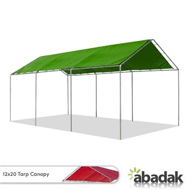 The 12 X 20 Canopy With Tarp Top Has An Effortless Set Up Procedure This Tent Is Made Extra Sturdy With Its Galvanized Canopy Shelter Canopy Backyard Gazebo