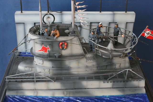 Type VIIC U-Boat by Suresh Nathan (Andrea Miniatures 1/32)