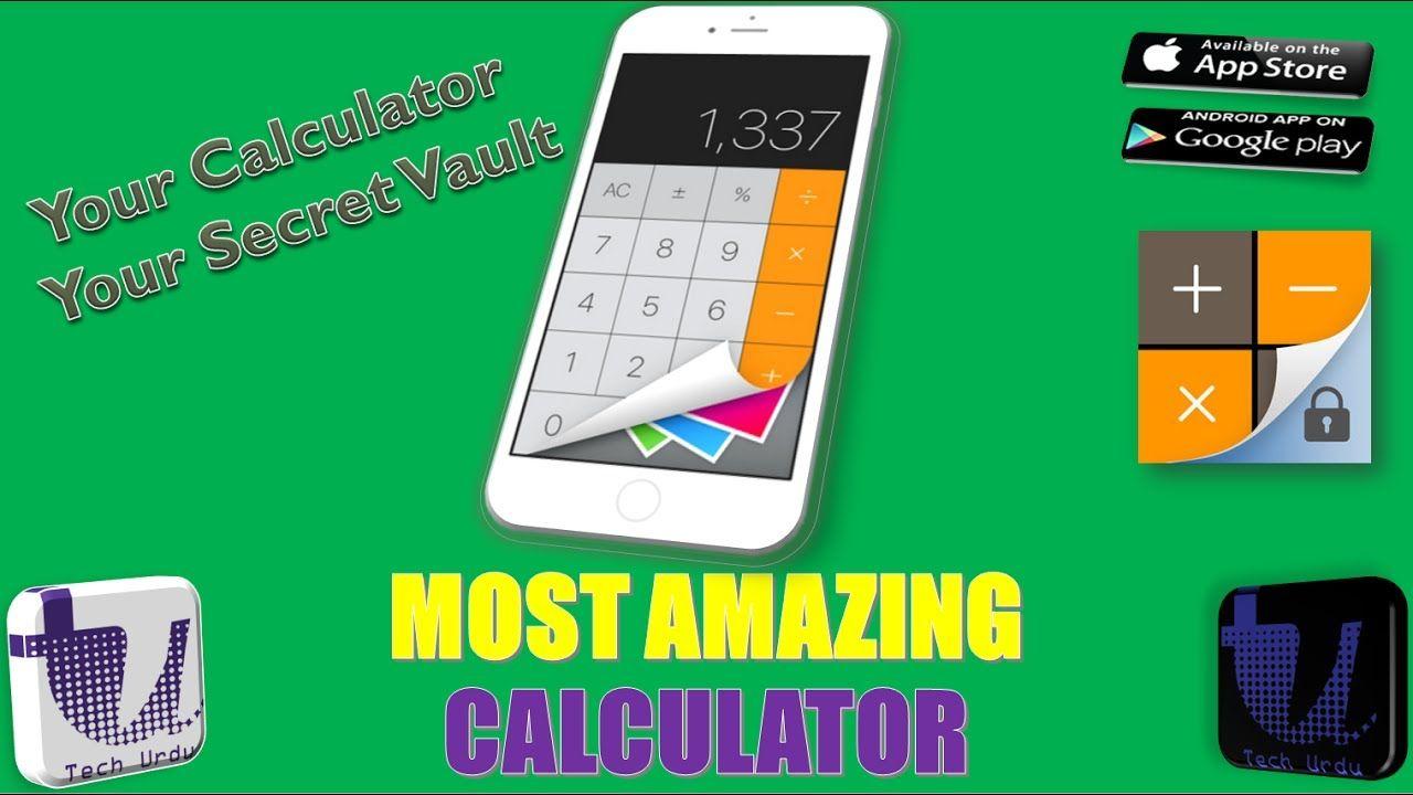 MOST AMAZING CALCULATOR SECRET CALCULATOR SECRET VAULT