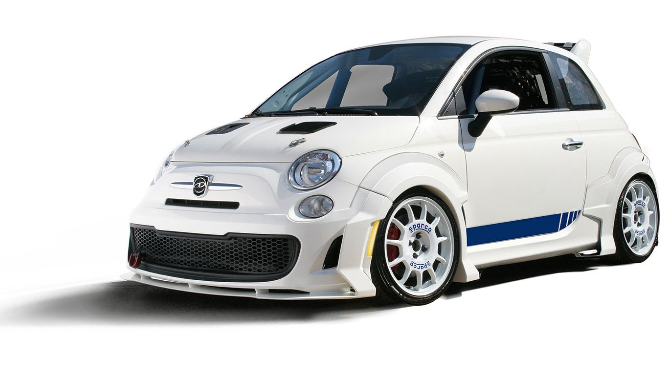 Our New Fiat 500 Abarth Body Kit Sdlab