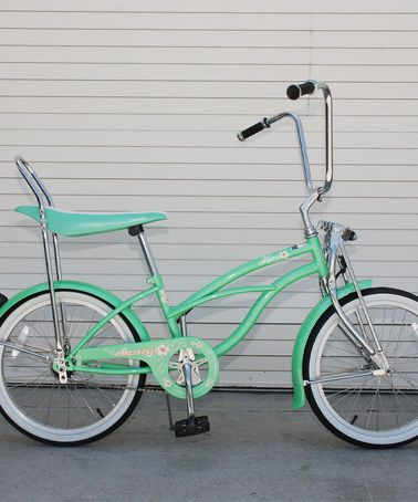 Take a look at this Mint Green Hero Lowrider Cruiser Bike - Girls by ...