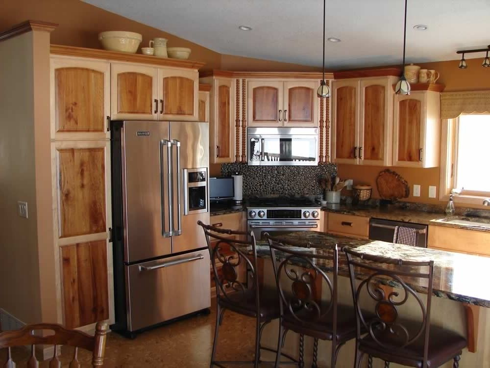 Fabulous Two Toned Kitchen Cabinets Picture Ideas  home