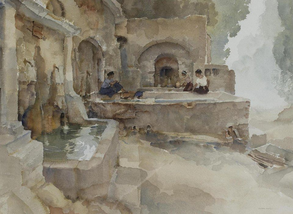 Sir William Russell Flint 1880 1969 Uk Scotland Early