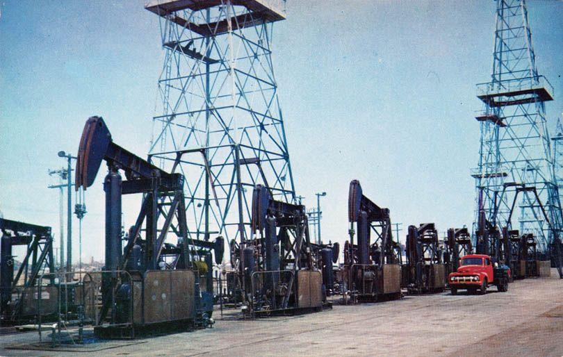 Via Yesterdayla Com Los Angeles Area Oilfield Bunker Hill