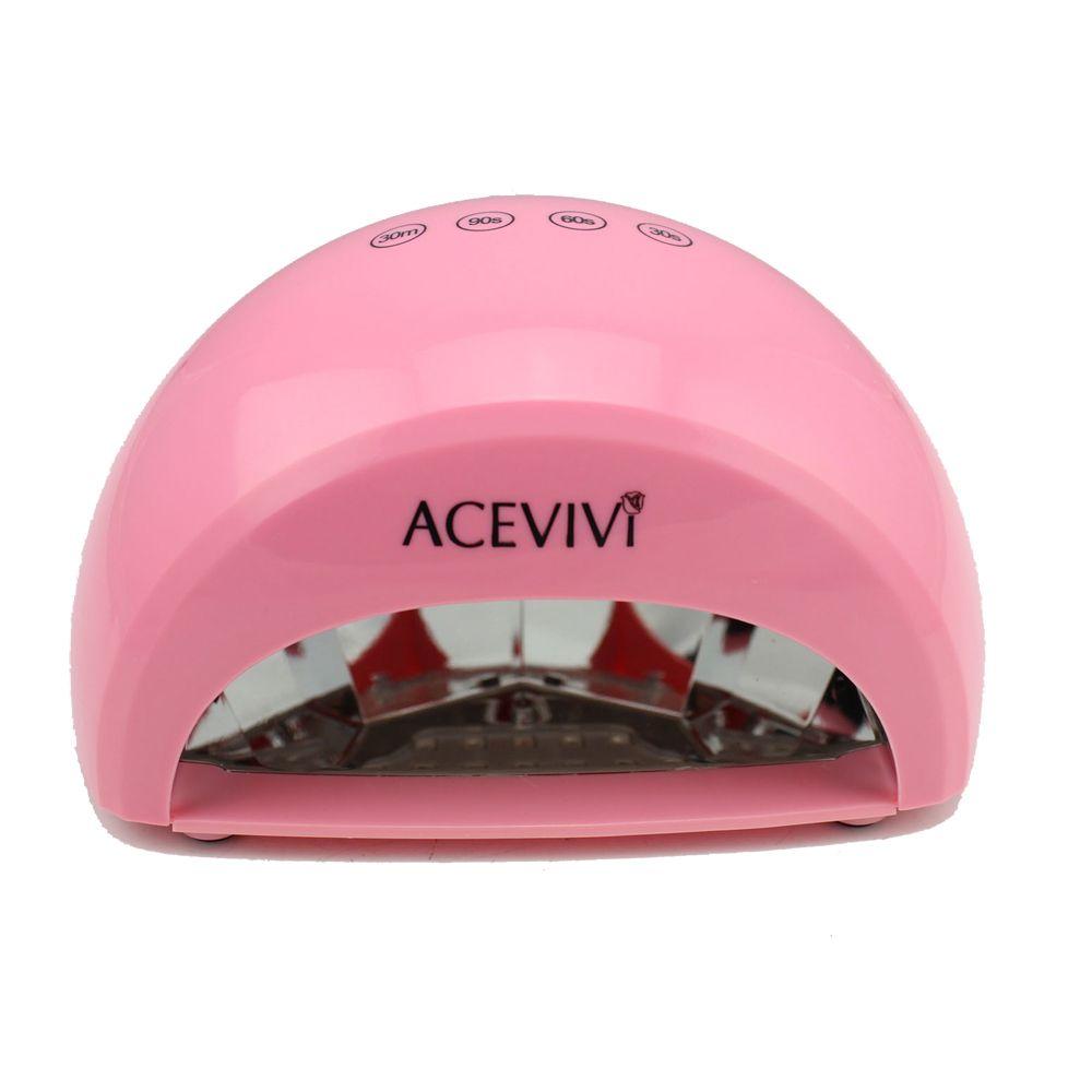 ACEVIVI Portable Handy 12w Uv Lamp Light Manicure Nail Dryer for ...