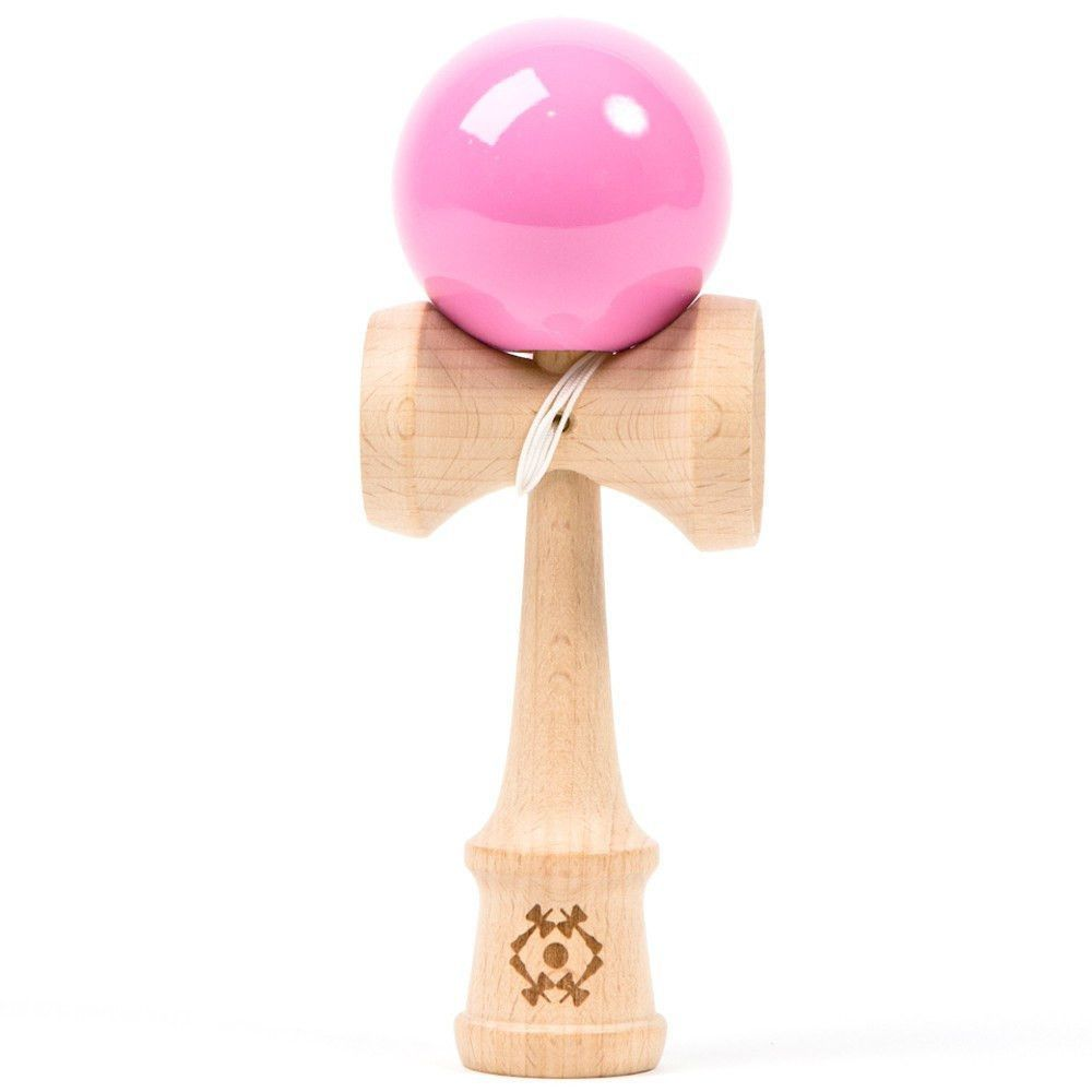 Jumbo Red Marble Super Kendama,Super Sticky,Japanese Wooden Toy.USA Seller