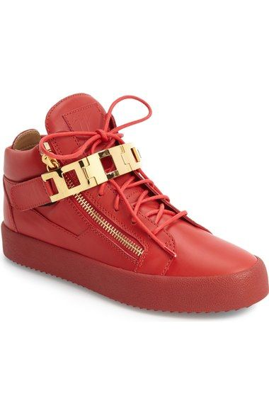 c95b10625c5 GIUSEPPE ZANOTTI Chain Link Side Zip Sneaker (Men). #giuseppezanotti ...