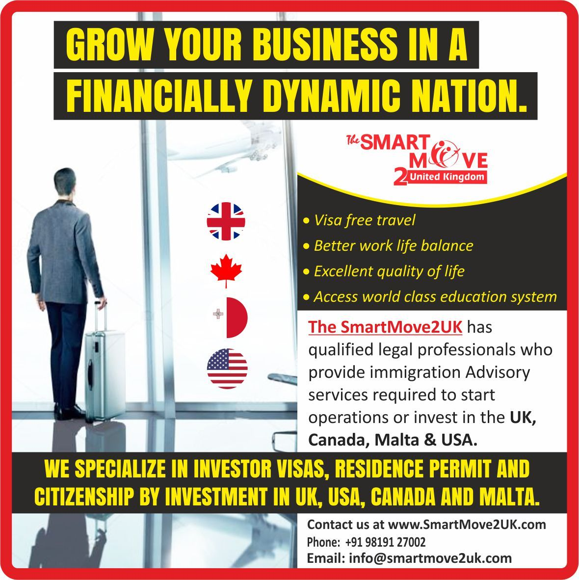 UK Visa Consultants and Immigration Lawyers in India (With
