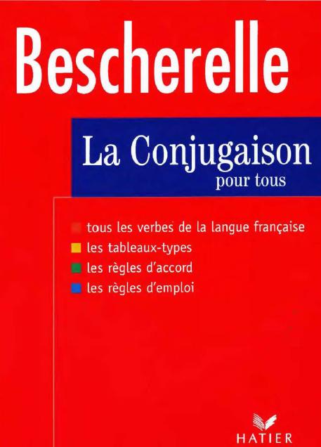 bescherelle la conjugaison pour tous free download