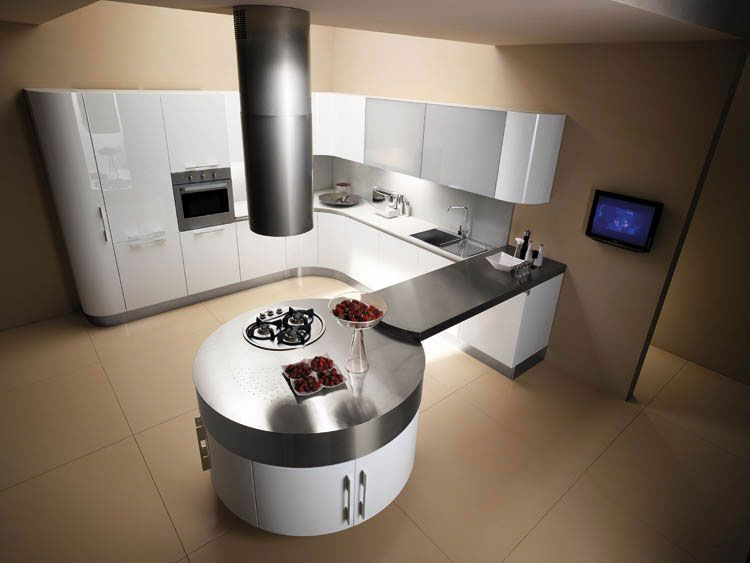 Idee Cuisine Moderne. Affordable Id E Cuisine Moderne Deco Maison ...