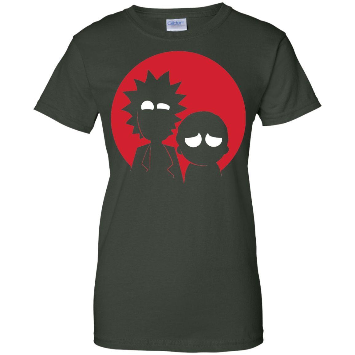 Rick & morty 16-01 Ladies Custom 100% Cotton T-Shirt