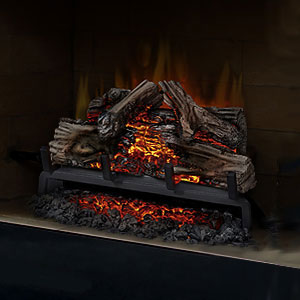 Pleasant Hearth 20 In Electric Fireplace Log Set W Grate