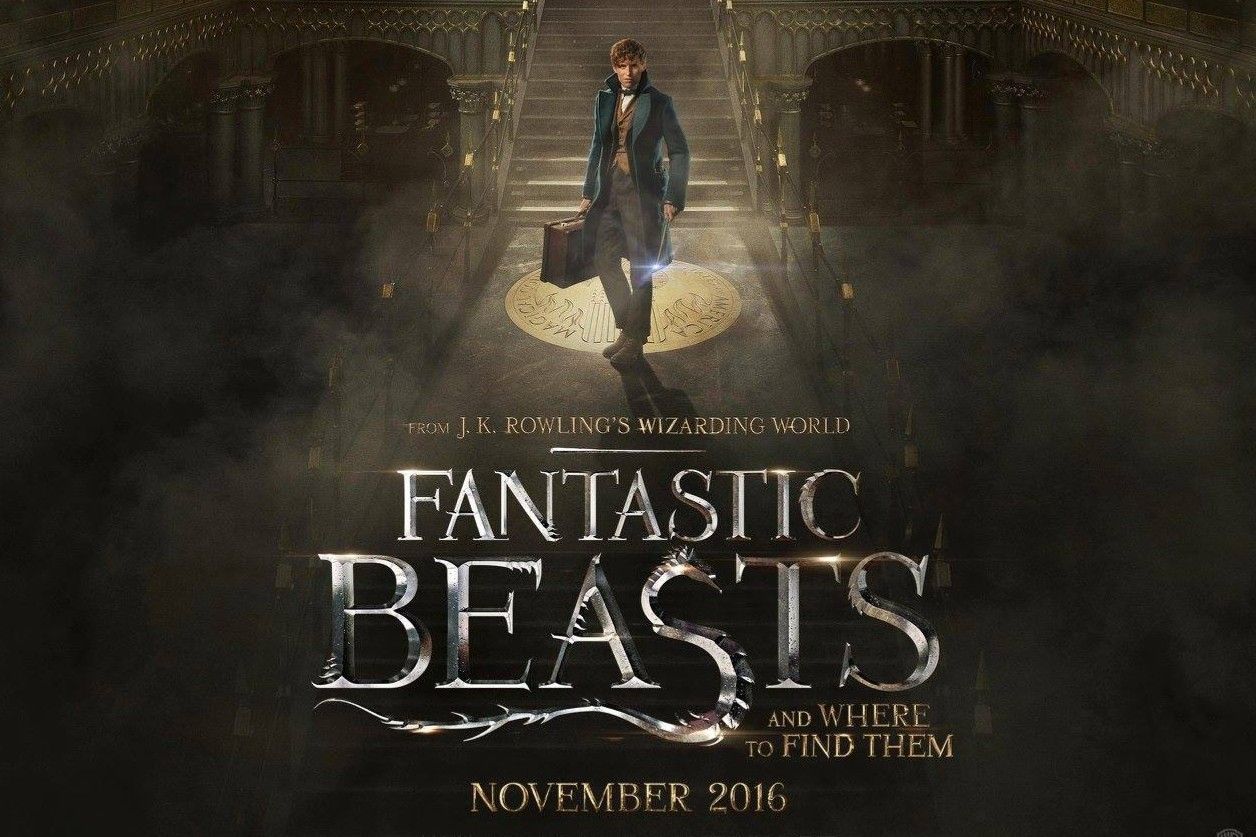 Fantastic Beasts And Where To Find Them One Sheet Movie Poster