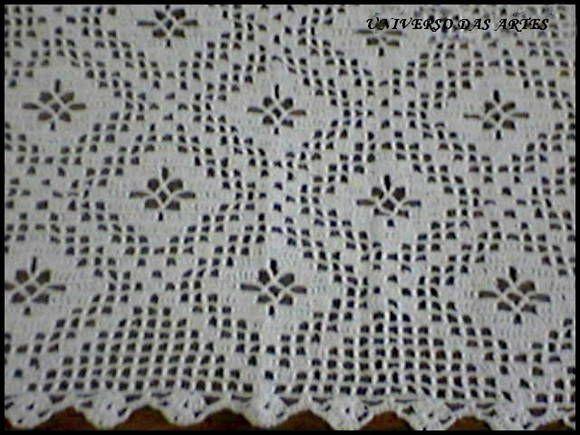 Toalha Quadrada Em Croche Com Imagens Toalha De Croche