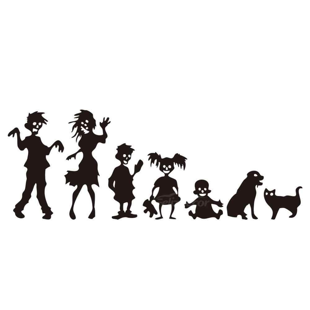 10x30cm זומבי משפחה רכב גוף מדבקות Cocar חלון דלת מדבקות מצחיק למעלה איכות עמיד למים Zp143 Car Stickers Aliexpress Family Car Stickers Family Stickers Dog Zombie [ 1000 x 1000 Pixel ]