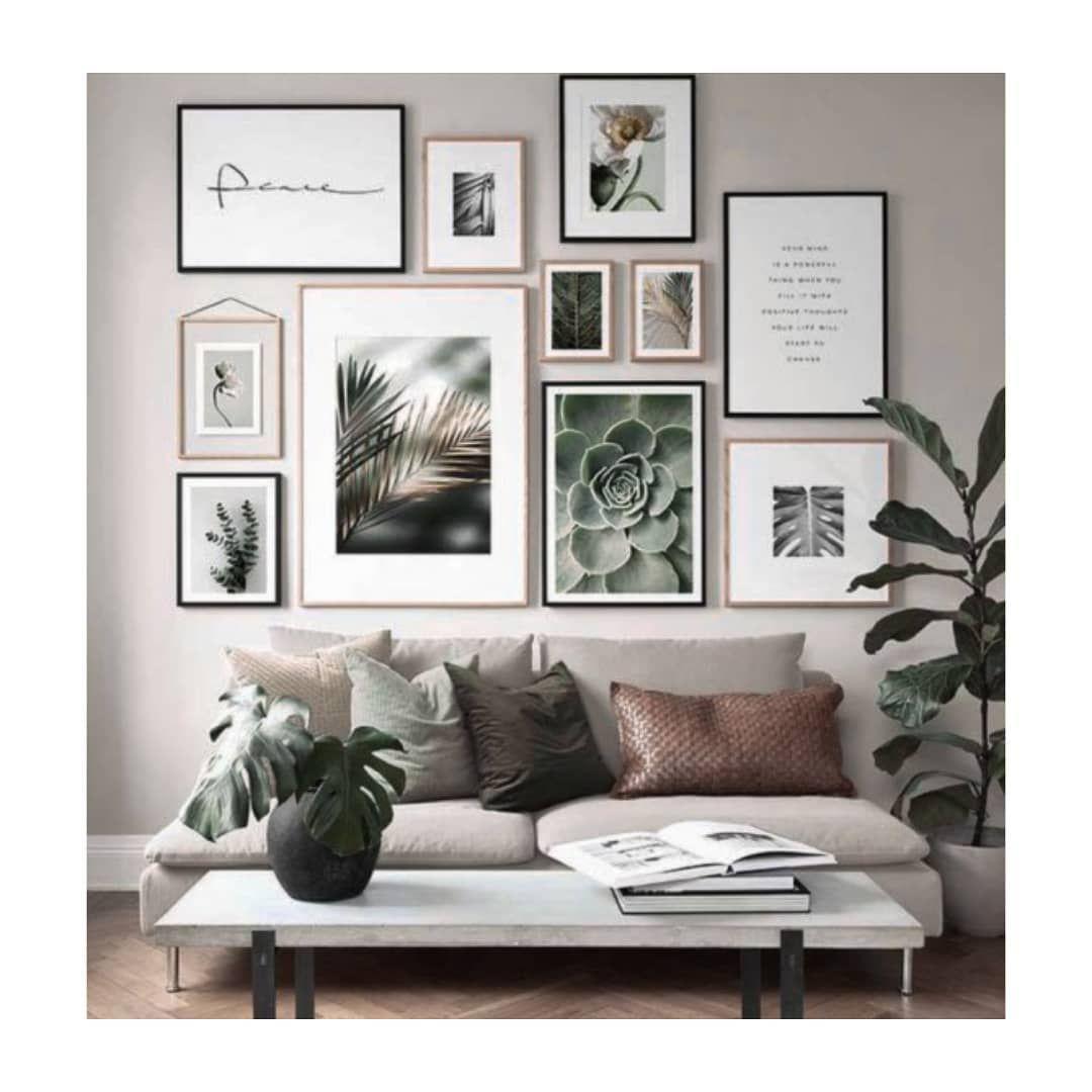 Épinglé par Ophelie Raison sur Décoration en 19  Idee deco mur