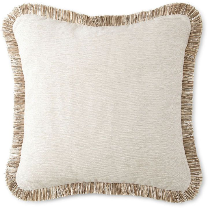 Jcp Home Collection Jcpenney Hometm Chenille Fringe